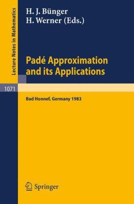 Pade Approximations and its Applications