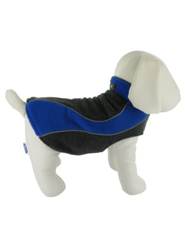 Designer Double Fleece Reflective Small Dog Coat