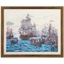 Sail Away Counted Cross-Stitch Kit