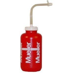Mueller Sports Quart Water Bottle , Red W/Straw - Each