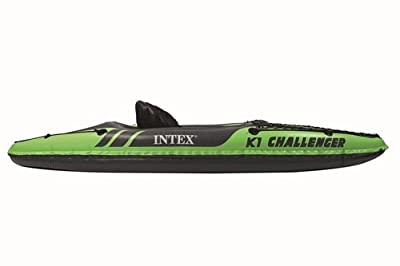 68305 Intex Challenger K1 Single Person Inflatable Kayak