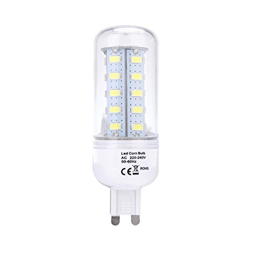 Docooler G9 8W 5730 Smd 36 Leds Corn Light Lamp Bulb Energy Saving 360 Degree White 220-240V
