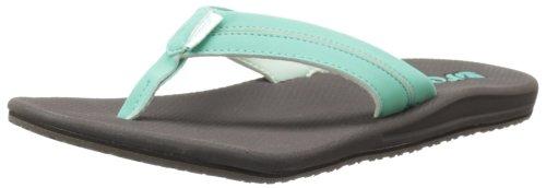 Reef Women'S Harmony Sandal,Brown/Turquoise,7 M Us