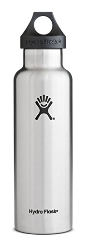 Hydro Flask Insulated Stainless Steel Water Bottle, Standard Mouth, Stainless, 21 Ounce (Drink Ware Made Of Plastic compare prices)