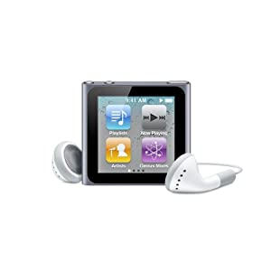 Apple iPod nano 6th Generation 16 GB (Graphite)