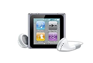 Apple iPod nano 8 GB Graphite (6th Generation) (Discontinued by Manufacturer)