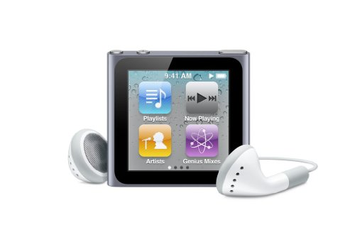 Apple iPod nano 16 GB Graphite (6th Generation) NEWEST MODEL
