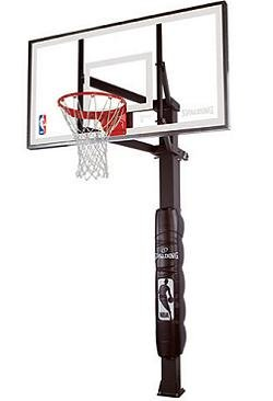Spalding Inground Basketball Hoops - 88830G 60 in. Glass Backboard