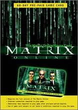The Matrix Online 60 Day Game Card