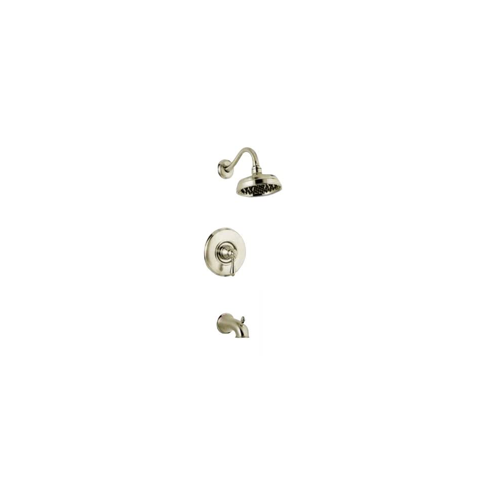 Price Pfister Brushed Nickel Tub Bathtub Shower Faucet