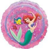 "Single Source Party Supplies - 18"" Ariel Little Mermaid Mylar Foil Balloon"