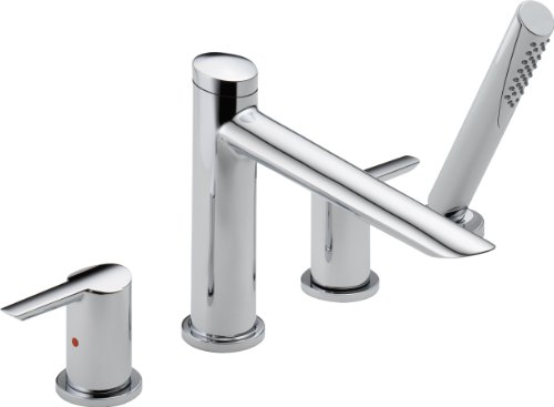 Delta Faucet T4761 Compel Roman Tub with Hand Shower Trim, Chrome (Delta Compel Shower compare prices)