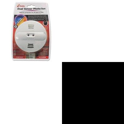 Kitdurmn16Rt4Zkid442007 - Value Kit - Kidde Dual Sensor Smoke Alarm (Kid442007) And Duracell Coppertop Alkaline Batteries With Duralock Power Preserve Technology (Durmn16Rt4Z)