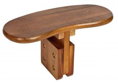 banc de m ditation r glable bois d 39 acacia 17 x 40 cm surface du si ge 17 x 40 cm hauteur. Black Bedroom Furniture Sets. Home Design Ideas