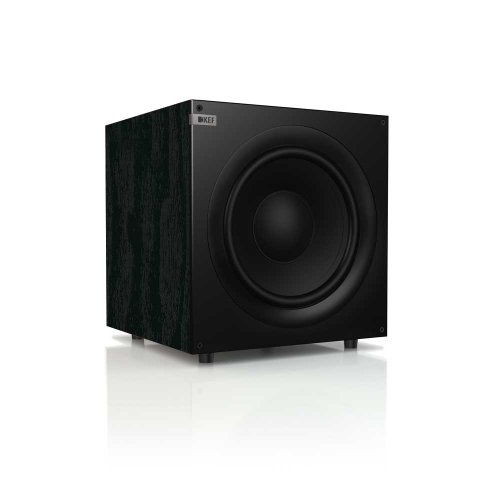 Kef Q400B Front Firing Powerful Subwoofer - Black Ash (Single)