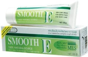 Smooth E Cream Anti-Aging Wrinkle Fade Acne Scars Spots 15 Grams