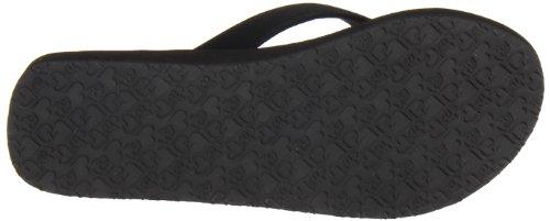 cobian Women's Skinny Bounce Sandal,Black,7 M US