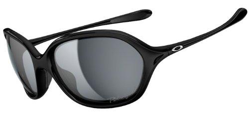 Oakley Warm Up OO9176-08 Polarized Round Sunglasses,Polished Black,One size