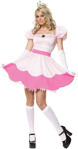 Nintendo Princess Peach Adult Costume Halloween