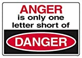 31Y1n%2BmDSkL. SL160 Anger is only one letter short of danger.ARGUS Large Posters