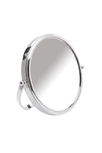 Danielle Easel Back Vanity Mirror, Chrome, 10X front-687340