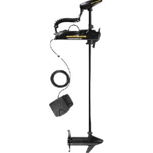 "Minn Kota Powerdrive V2 55 Universal Sonar 2 Freshwater Bow-Mount Trolling Motor with i-Pilot, No Foot Pedal (55-lb Thrust, 54"" Shaft)"