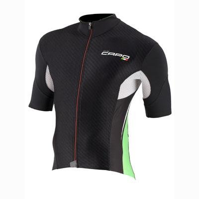 Buy Low Price Capo 2012 Men's Volta Short Sleeve Cycling Jersey (B007HQ6ZSG)