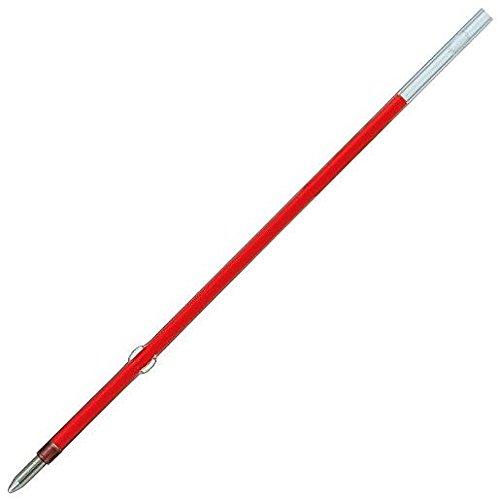 UNI-BALL Lot de 5 Recharges pour Stylo bille Laknock SA7CN Pte Fine 0,7mm Rouge