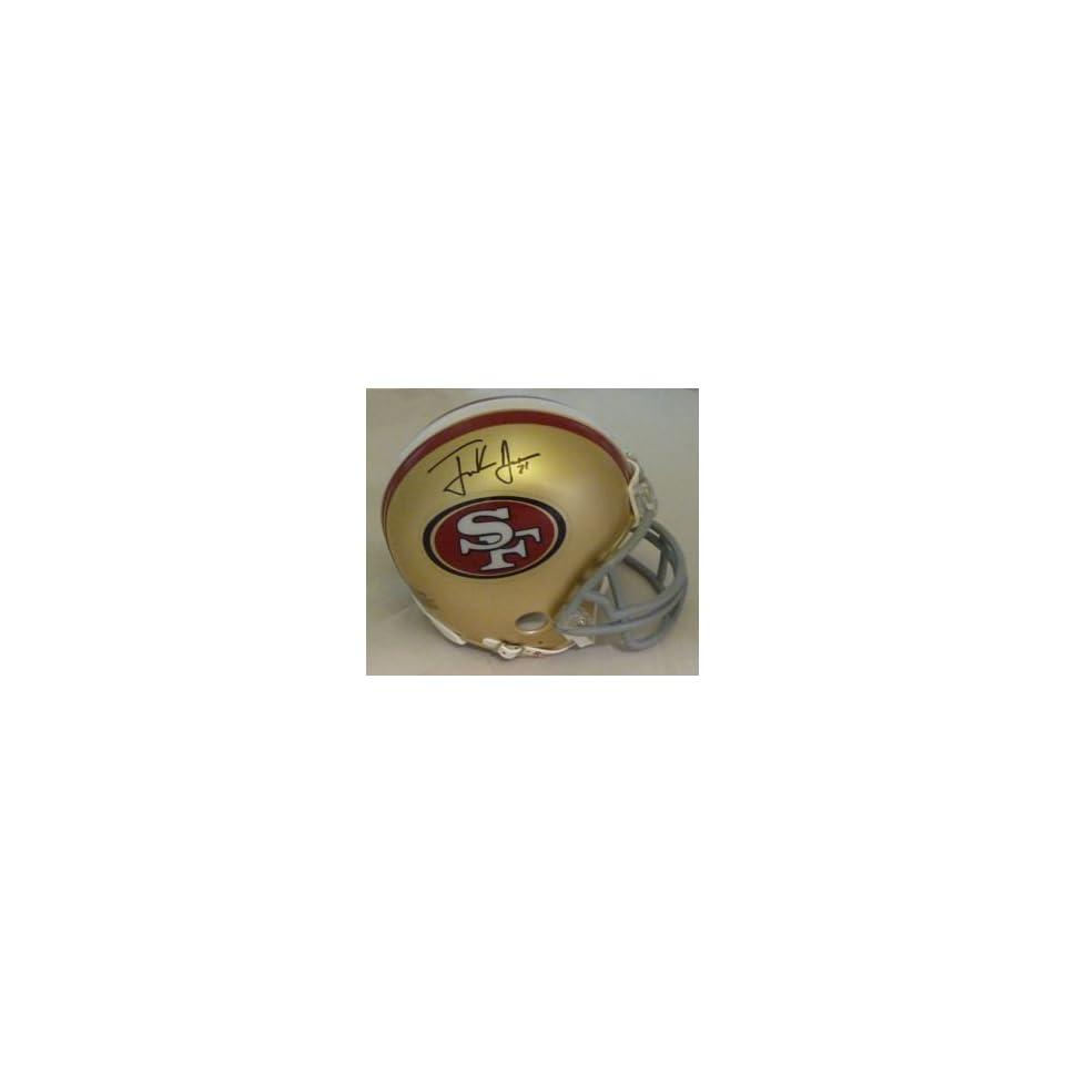 Frank Gore Autographed San Francisco 49ers Riddell Mini