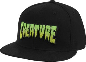 6a94da65116 Creature Logo Fade Flexfit Hat L Xl Black Creature