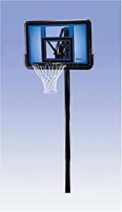 Buy Lifetime 1090 Height-Adjustable In-Ground Basketball System with 44-Inch Acrylic Backboard by Lifetime