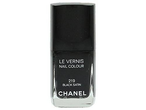 Chanel Le Vernis Nail Colour Nagellack 219 Black Satin 13ml