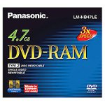 Panasonic LM HB47LE - DVD-RAM - 4.7 GB 3x - storage media