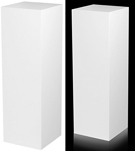 Laminate Pedestal - 15 X 15 Top - 36 Tall - White (Tall White Pedestal compare prices)