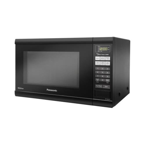 Panasonic Nnsn651B Black Microwave Countertop 1.2Cf 1200Watts