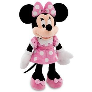 Minnie Mouse Plush Backpack - 3D Backpack - 16 Inch Mininie