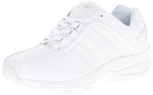 Dr. Scholl's Women's Kimberly Slip Resistant Work Shoe,Super White,7.5 M US