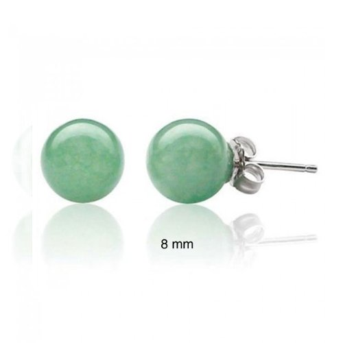 Bling Jewelry 925 Sterling Silver Jade Gemstone