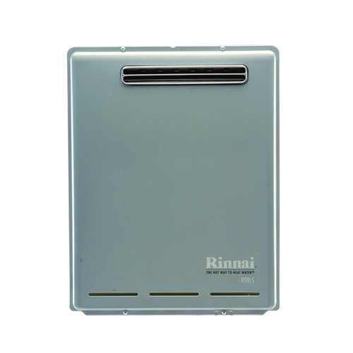 Rinnai R98Lse Natural Gas Outdoor Tankless Water Heater, 9.8 Gpm
