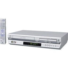 JVC HRXVC29S DVD/VCR Combo , Silver