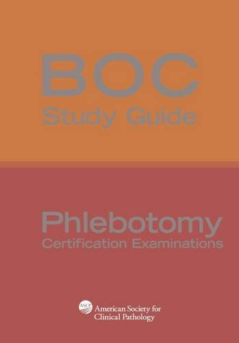 phlebotomy study guide This all-in-one guide covers the latest information on how to become a  phlebotomist, with illustrations and practice questions to guide your.