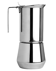 Ilsa Stainless Steel Stovetop Espresso Makers by Harold Imports