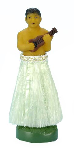 Forum Novelties Hawaiian Luau Dashboard Doll Hula Dancer Boy
