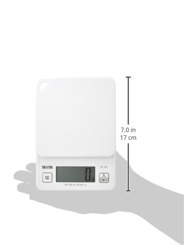 TANITA Digital cooking scale-1kg White KD187-WH