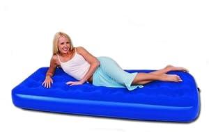 (Bestway) Comfort Quest Easy Inflate Flocked Air Bed Single from Bestway