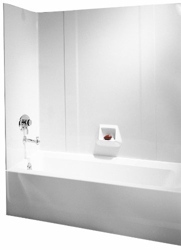 Best Price! Swanstone RM-58-010 High Gloss Tub Wall Kit, White Finish