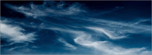 Stampa su acrilico 110 x 40 cm: Clouds 4 di Daniel Crnkovic CD-Fotografik