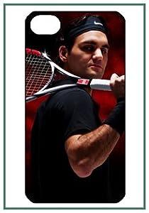 Roger Federer Tennis Roger Federer iPhone 4 iPhone4 noir