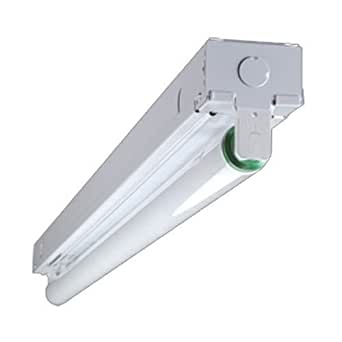 3 ft 1 lamp fluorescent strip light lighting fixtures With 1 lamp fluorescent light fixtures