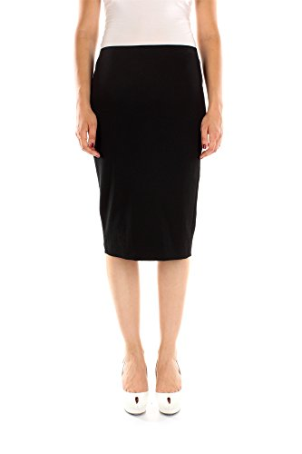 115GC2860T15105T9000-Tom-Ford-Jupes-Femme-Viscose-Noir